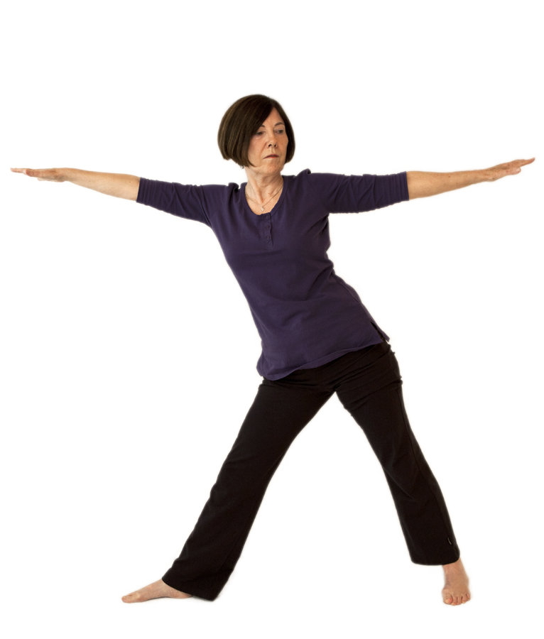 About Elizabeth - yoga position